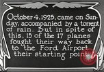 Image of Ford aircraft Dearborn Michigan USA, 1925, second 4 stock footage video 65675066085