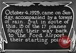 Image of Ford aircraft Dearborn Michigan USA, 1925, second 8 stock footage video 65675066085