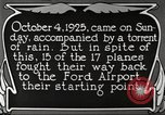 Image of Ford aircraft Dearborn Michigan USA, 1925, second 12 stock footage video 65675066085