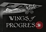 Image of Airplane Reliability Tour Dearborn Michigan USA, 1925, second 2 stock footage video 65675066194