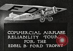 Image of Airplane Reliability Tour Dearborn Michigan USA, 1925, second 7 stock footage video 65675066194