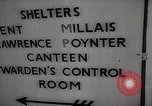 Image of underground shelters London England United Kingdom, 1944, second 9 stock footage video 65675066217