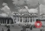 Image of Pope blesses American troops Vatican City Rome Italy, 1944, second 6 stock footage video 65675066219