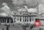 Image of Pope blesses American troops Vatican City Rome Italy, 1944, second 7 stock footage video 65675066219