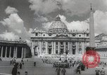 Image of Pope blesses American troops Vatican City Rome Italy, 1944, second 8 stock footage video 65675066219