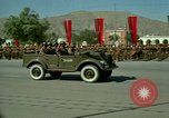 Image of Afghan Army parade Kabul Afghanistan, 1968, second 10 stock footage video 65675066228