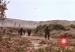 Image of training maneuvers Camp Pendleton California USA, 1967, second 5 stock footage video 65675066247