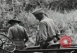 Image of U.S. General Robert Eichelberger Buna New Guinea, 1943, second 2 stock footage video 65675066259