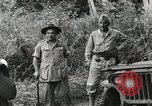 Image of U.S. General Robert Eichelberger Buna New Guinea, 1943, second 9 stock footage video 65675066259
