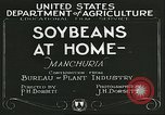 Image of soybean cultivation Manchuria China, 1928, second 2 stock footage video 65675066279