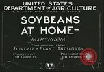 Image of soybean cultivation Manchuria China, 1928, second 4 stock footage video 65675066279