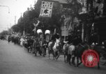 Image of procession Shanghai China, 1928, second 2 stock footage video 65675066305