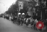 Image of procession Shanghai China, 1928, second 3 stock footage video 65675066305