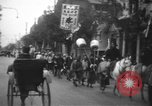 Image of procession Shanghai China, 1928, second 5 stock footage video 65675066305