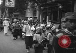 Image of procession Shanghai China, 1928, second 8 stock footage video 65675066305