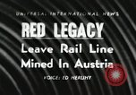 Image of Red Legacy Austria, 1956, second 1 stock footage video 65675066313