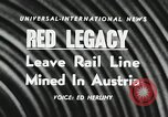 Image of Red Legacy Austria, 1956, second 2 stock footage video 65675066313