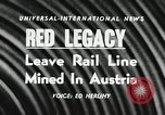 Image of Red Legacy Austria, 1956, second 4 stock footage video 65675066313