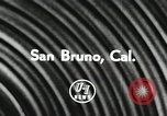 Image of American citizens San Bruno California USA, 1956, second 6 stock footage video 65675066314
