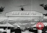 Image of helicopter school France, 1956, second 5 stock footage video 65675066315