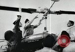 Image of helicopter school France, 1956, second 10 stock footage video 65675066315