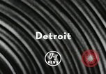 Image of Gaby Tobian Detroit Michigan USA, 1956, second 5 stock footage video 65675066317