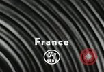 Image of motorcycle dirtbike race Tarn France, 1956, second 3 stock footage video 65675066318