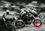 Image of motorcycle dirtbike race Tarn France, 1956, second 5 stock footage video 65675066318
