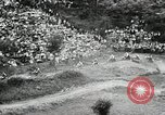 Image of motorcycle dirtbike race Tarn France, 1956, second 9 stock footage video 65675066318