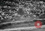 Image of motorcycle dirtbike race Tarn France, 1956, second 11 stock footage video 65675066318