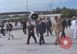Image of Richard Nixon Midway Island, 1969, second 1 stock footage video 65675066321