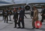 Image of Richard Nixon Midway Island, 1969, second 4 stock footage video 65675066321