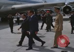 Image of Richard Nixon Midway Island, 1969, second 5 stock footage video 65675066321