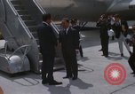 Image of Richard Nixon Midway Island, 1969, second 10 stock footage video 65675066321