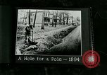 Image of telephone facility construction United States USA, 1926, second 7 stock footage video 65675066326