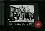 Image of telephone facility construction United States USA, 1926, second 12 stock footage video 65675066326