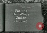 Image of telephone lines United States USA, 1926, second 1 stock footage video 65675066329