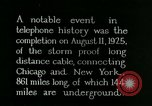 Image of New York-Chicago telephone line United States USA, 1926, second 1 stock footage video 65675066333