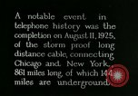Image of New York-Chicago telephone line United States USA, 1926, second 2 stock footage video 65675066333