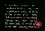 Image of New York-Chicago telephone line United States USA, 1926, second 6 stock footage video 65675066333