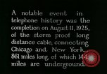 Image of New York-Chicago telephone line United States USA, 1926, second 9 stock footage video 65675066333