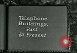 Image of telephone buildings United States USA, 1926, second 3 stock footage video 65675066334