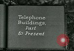 Image of telephone buildings United States USA, 1926, second 4 stock footage video 65675066334