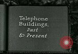 Image of telephone buildings United States USA, 1926, second 5 stock footage video 65675066334