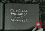 Image of telephone buildings United States USA, 1926, second 8 stock footage video 65675066334