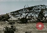 Image of bomb wrecked aircraft Tunis Tunisia, 1943, second 3 stock footage video 65675066356