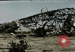 Image of bomb wrecked aircraft Tunis Tunisia, 1943, second 4 stock footage video 65675066356
