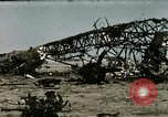 Image of bomb wrecked aircraft Tunis Tunisia, 1943, second 5 stock footage video 65675066356