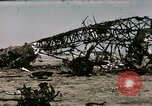 Image of bomb wrecked aircraft Tunis Tunisia, 1943, second 6 stock footage video 65675066356