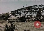 Image of bomb wrecked aircraft Tunis Tunisia, 1943, second 7 stock footage video 65675066356